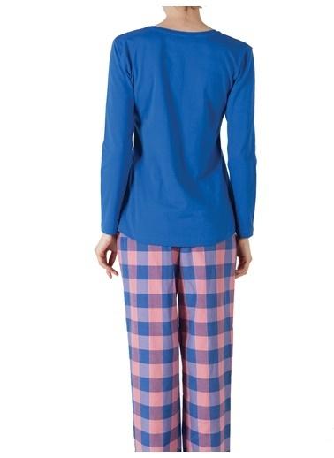Doremi Royal Rain Bayan Pijama Takımı Saks
